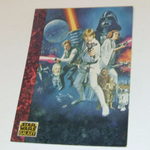 Star Wars Galaxy 1993 Topps #54 Foreign Movie posters Trading card